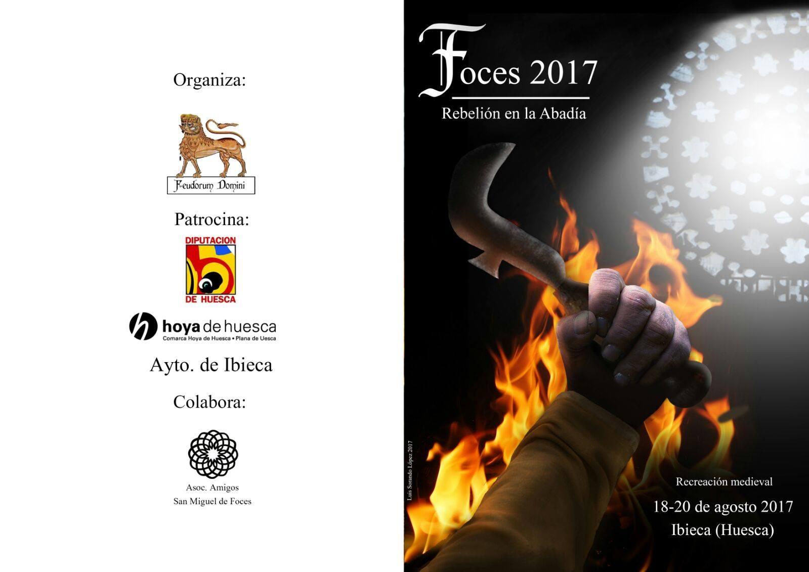 portada programa recreación San Miguel de Foces 2017
